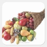 Cornucopia of fruit and vegetables sticker