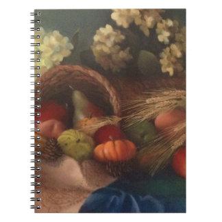Cornucopia Spiral Notebook