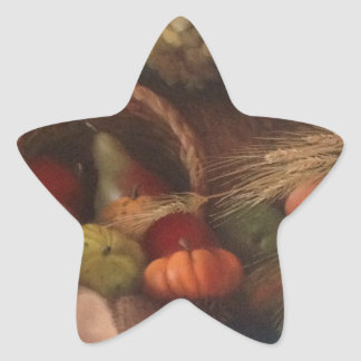 Cornucopia Star Sticker