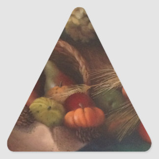 Cornucopia Triangle Sticker