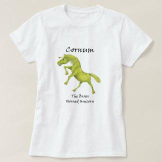 Cornum The Brass-Horned Unicorn Tee-Shirt T-Shirt