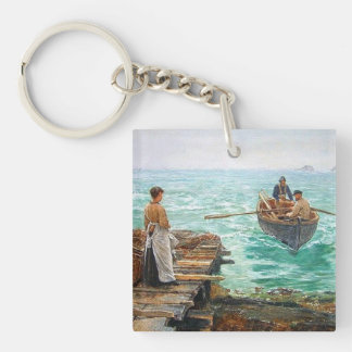 Cornwall 1895 Customisable Keychain