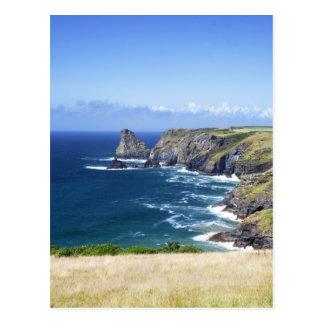 Cornwall - Benoath Cove Postcard
