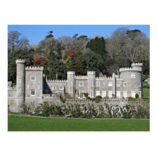 Cornwall Caerhays Castle Postcard