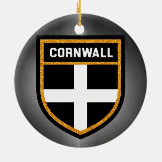 Cornwall Flag Ceramic Ornament