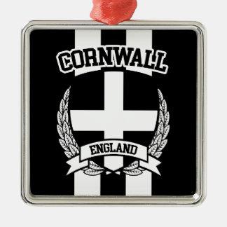 Cornwall Metal Ornament