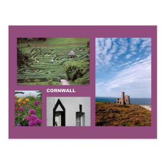 Cornwall multi-image postcard