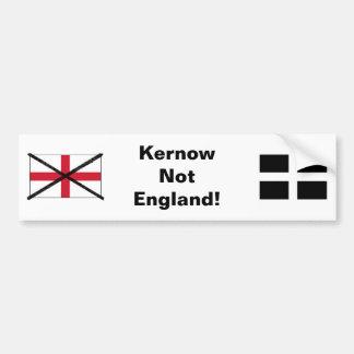 Cornwall not England bumper sticker