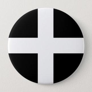 Cornwall, United Kingdom 4 Inch Round Button