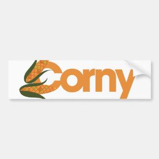 Corny Bumper Sticker