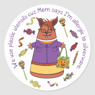 Corny Candy - Werewolf Sticker