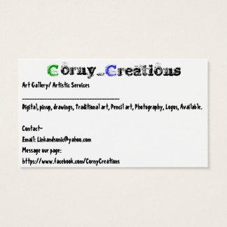 Corny_Creations Business Card