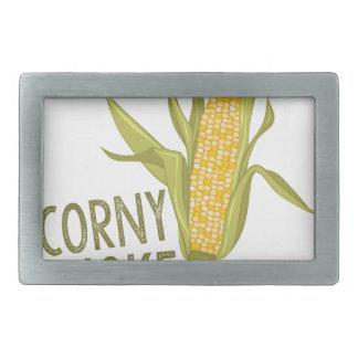 Corny Joke Belt Buckles