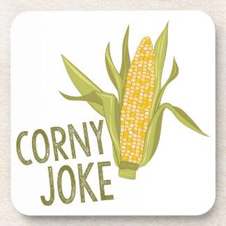 Corny Joke Beverage Coasters