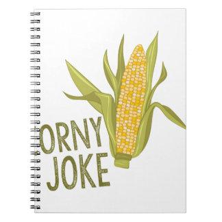 Corny Joke Note Books