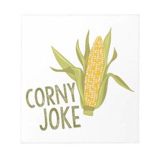 Corny Joke Notepad