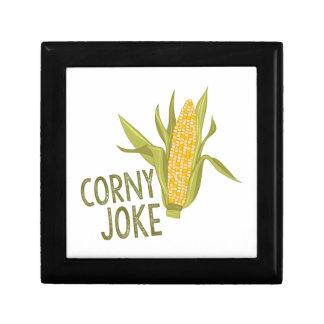 Corny Joke Trinket Box