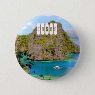 Coron 2 Inch Round Button
