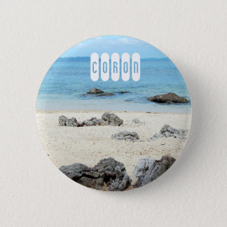 Coron of Palawan 2 Inch Round Button