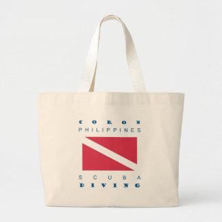 Coron Philippines Canvas Bag