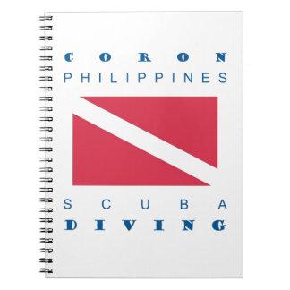 Coron Philippines Spiral Note Books