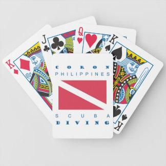 Coron Philippines Bicycle Poker Deck