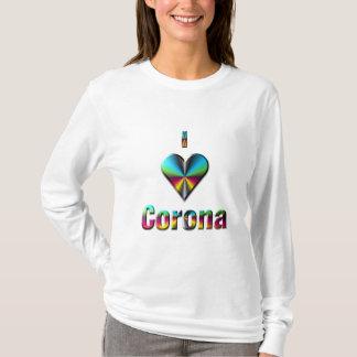 Corona -- Blue Green & Burgundy T-Shirt