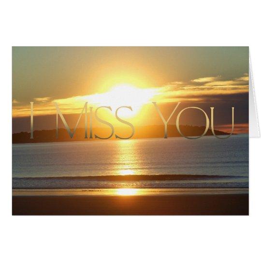Corona - I Miss You Card