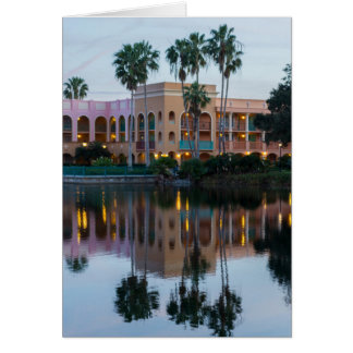 Coronada Springs Reflections Card