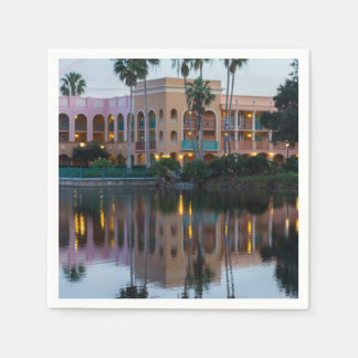 Coronada Springs Reflections Paper Napkins
