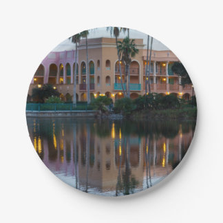 Coronada Springs Reflections Paper Plate