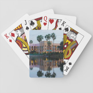 Coronada Springs Reflections Playing Cards