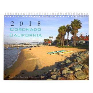 Coronado CA Calendar, 12 Original Photos. Wall Calendars