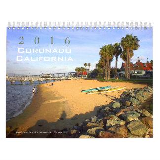 Coronado CA Calendar, 13 original photos. Wall Calendar