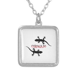 Coronado California Silver Plated Necklace