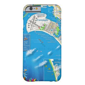 Coronado Map Phone Case