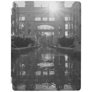 Coronado Sunburst Grayscale iPad Cover