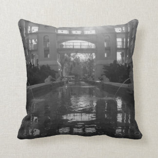 Coronado Sunburst Grayscale Throw Pillow