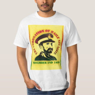 Coronation of Haile Selassie T-Shirt