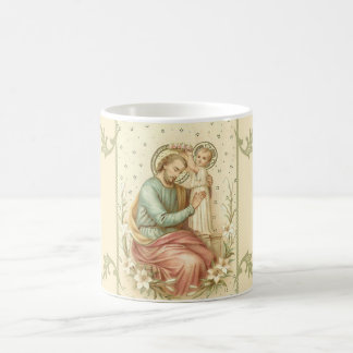 Coronation of St. Joseph by Jesus Coffee Mug