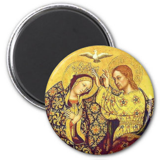 Coronation Of The Blessed Virgin Magnet