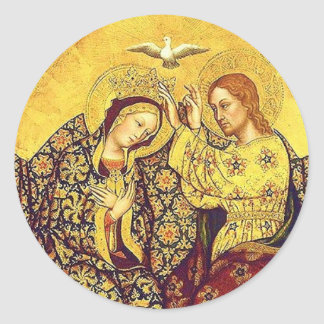 Coronation of the Blessed Virgin Mary Stickers
