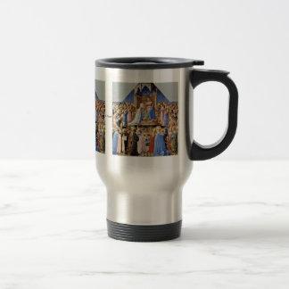 Coronation Of The Virgin Altarpiece Coffee Mug