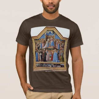 Coronation Of The Virgin, And Scenes From The Life T-Shirt