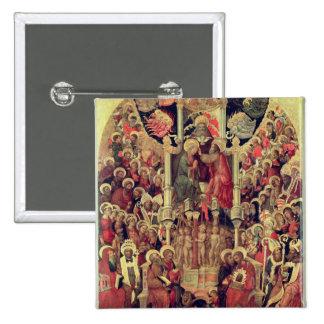 Coronation of the Virgin Button