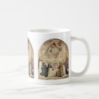 Coronation Of The Virgin By Fra Angelico Coffee Mugs
