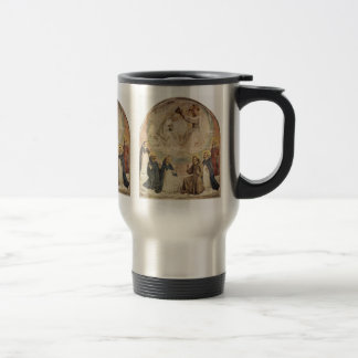 Coronation Of The Virgin By Fra Angelico Mugs
