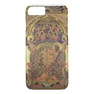 Coronation of the Virgin (detail of the polyptych) iPhone 7 Case