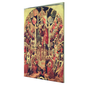 Coronation of the Virgin Gallery Wrap Canvas