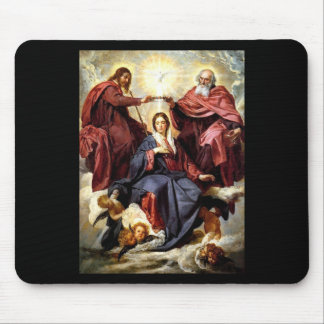 Coronation of the Virgin Mouse Pad